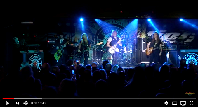 Down 'n' Outz - Pronto live album e video on Line: 'Overnight Angels'