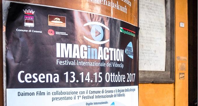 Le Foto di Sting durante Imaginaction Video Clip Festival di Cesena