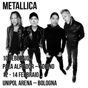Metallica @ Unipol Arena - Casalecchio di Reno (BO) | Zona Industriale Via del Lavoro | Emilia-Romagna | Italia