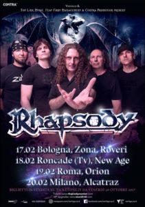 Rhapsody @ Alcatraz - Milano | Milano | Lombardia | Italia