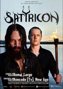 Satyricon @ New Age Club - Roncade (TV) | Area Industriale Treviso-mare | Veneto | Italia