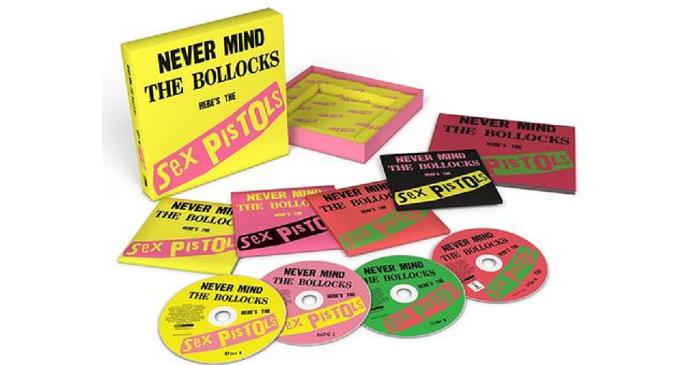 Sex Pistols - 'Never Mind the Bollocks': Edizione de luxe per festeggiare i 40 anni dall'uscita