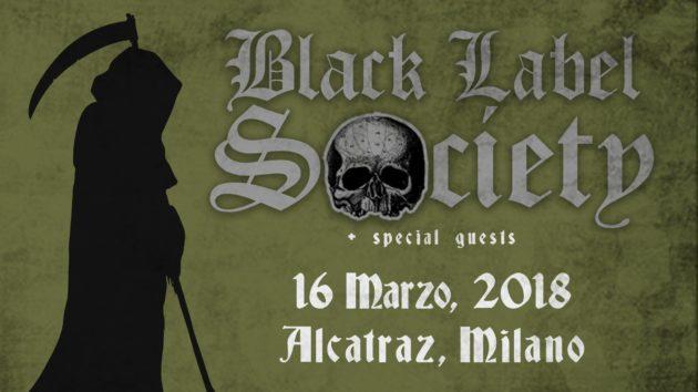 BLACK LABEL SOCIETY - Nel 2018 in Italia