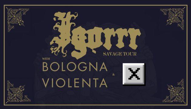IGORRR & BOLOGNA VIOLENTA - Il report della data fiorentina