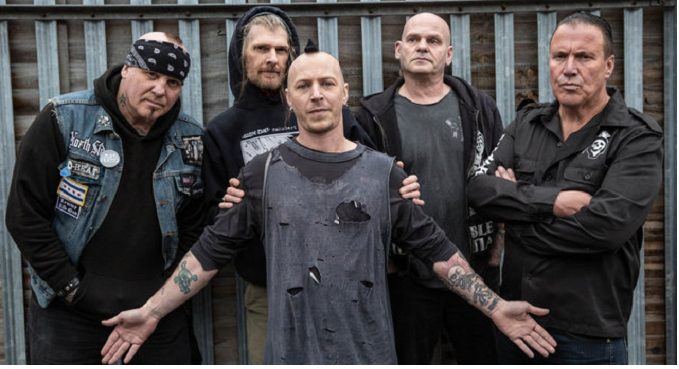 Discharge - Nuovo Album ad Aprile e video on Line: 'The Broken Law'