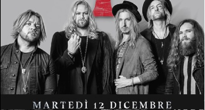 Inglorious - L'Hard Rock Made in UK in Italia a dicembre...