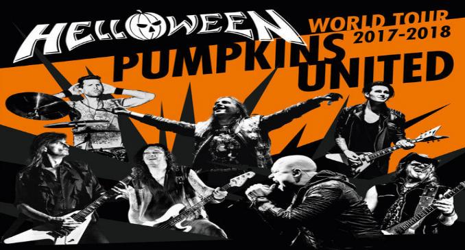 Helloween – Pumpkins United World Tour, Mediolanum Forum Assago 18/11/2017