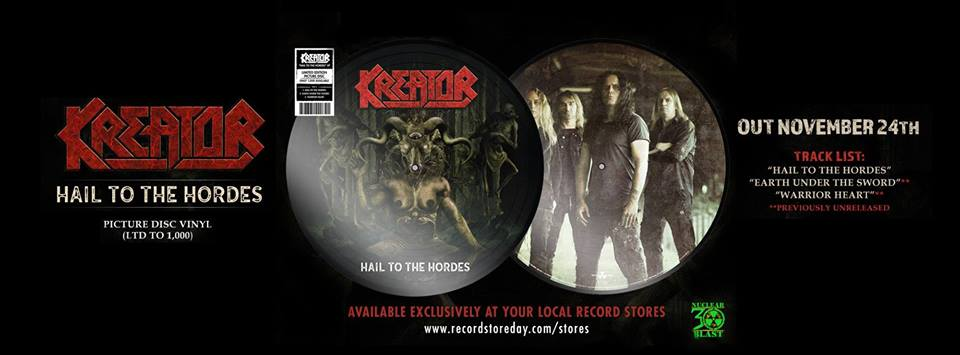 """KREATOR - Guarda il nuovo video """"Hail to the Hordes"""""""