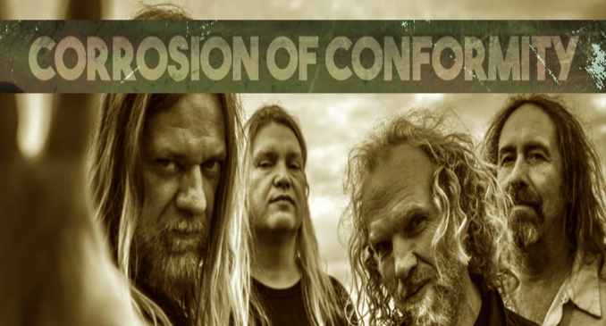 Corrosion Of Conformity: 'Wolf Named Crow' video on line