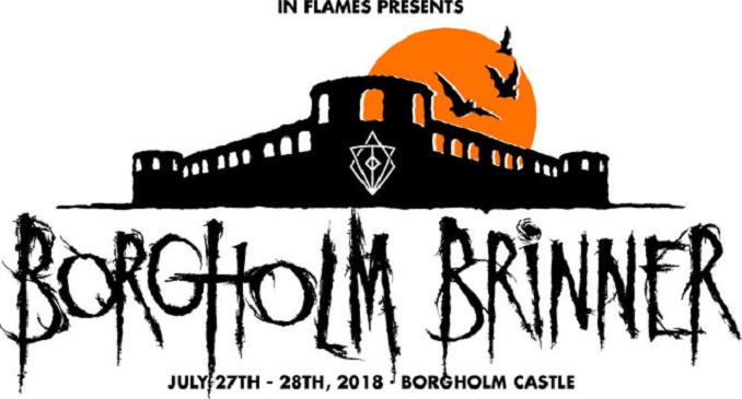 A Luglio 'Borgholm Brinner' il festival organizzato dagli In Flames