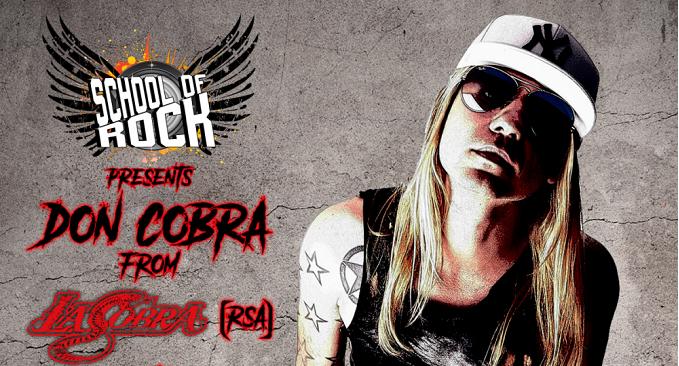 Don Cobra - Il leader degli L.A. Cobra il 30 Dicembre a Milano