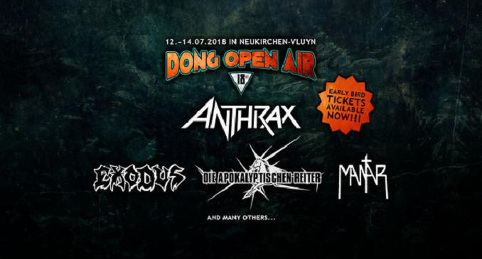 'Dong Open Air' 2018 - Aperte le Prevendite per il festival Nuclear Blast