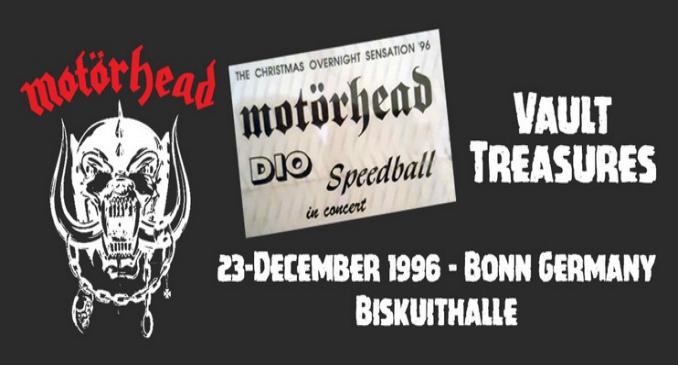 Motörhead: disponibile in download gratuito un concerto del 1996