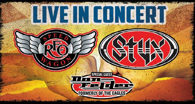 Styx: le date del tour U.S. con Reo Speedwagon e Don Felder