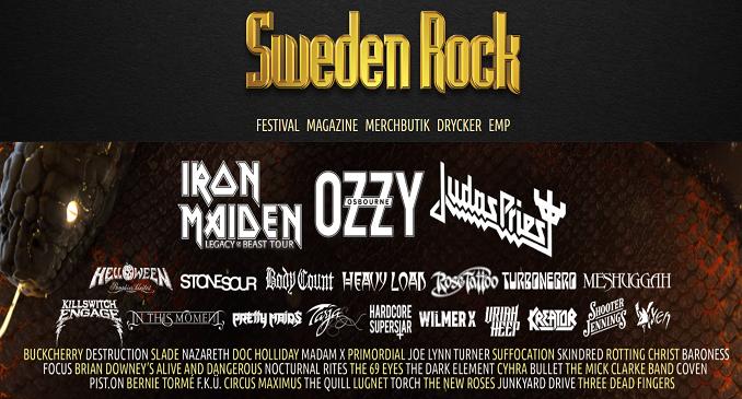 Sweden Rock Fest 2018 - Anche Meshuggah e Uriah Heep fra le 80 band