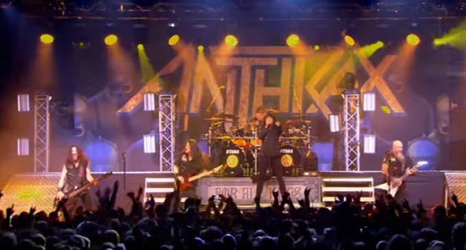 Anthrax - 'Caught in a Mosh' tratto dall'imminente DVD 'Kings Among Scotland'
