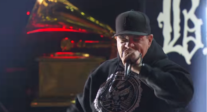 Body Count - La performance live di 'Black Hoodie' ai Grammy Awards