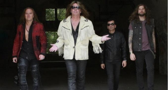 Sainted Sinners - Video on Line per la Band di David Reece