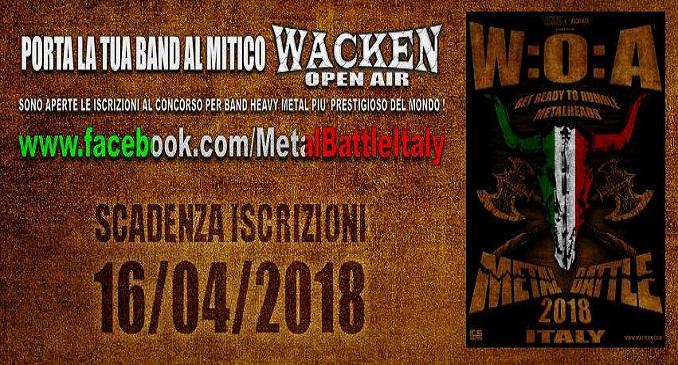 Wacken Metal Battle Italy - Il contest per portare le band italiane al festival più importante d'Europa