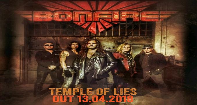 Bonfire - Il nuovo album 'Temple Of Lies' in uscita il 13 aprile