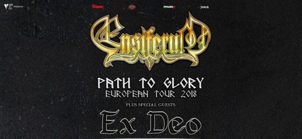 ENSIFERUM - Due date in Italia con gli EX DEO