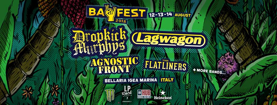 BAY FEST 2018 - Annunciate 3 grandi band