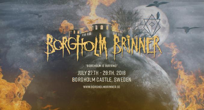 Borgholm Brinner - Annunciate le prime band che prenderanno parte al festival organizzato dagli In Flames