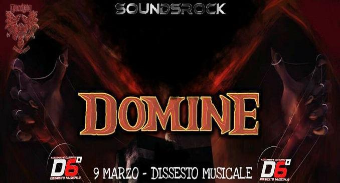 Domine - Il 9 Marzo a Roma
