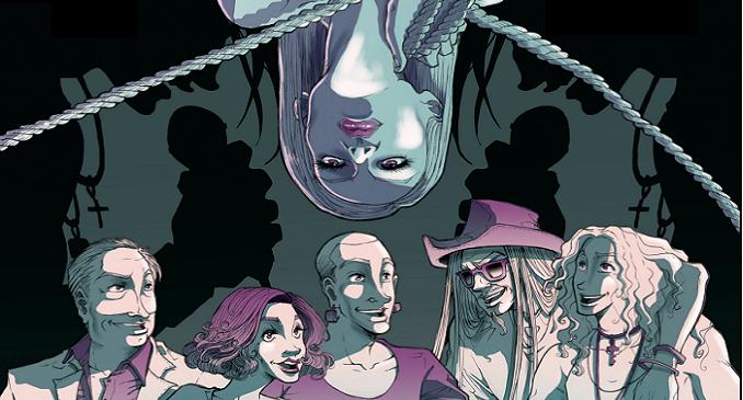 HITC, La Graphic Novel di Davide Moras degli Elvenking e Hell in the Club
