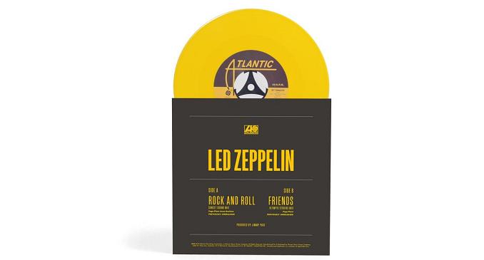 Led Zeppelin - Vinile Giallo per il Record Store Day di Aprile