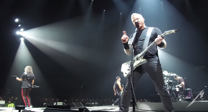 Metallica - Il Live Video di 'Sad But True' dal Concerto di Lisbona