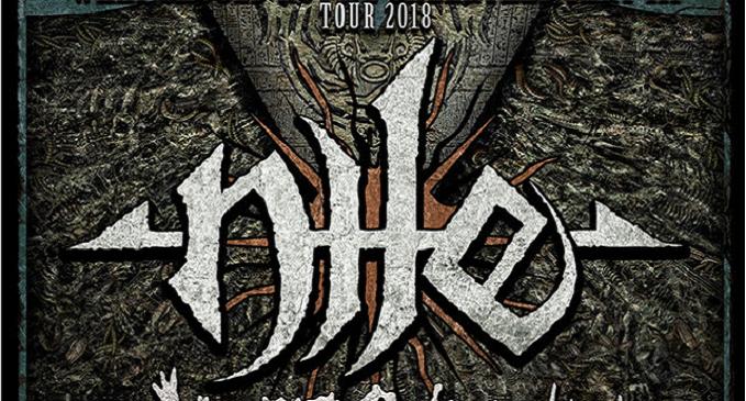 Nile - Iniziato il tour Europeo. Due Date in Italia