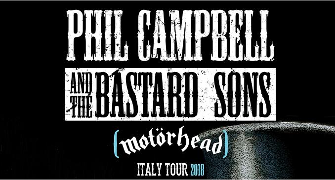 Phil Campbell and the Bastard Sons - I Dettagli delle Date Italiane