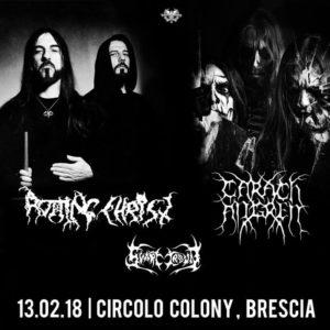 Rotting Christ - Carach Angren @ Circolo Colony - Brescia | Brescia | Lombardia | Italia