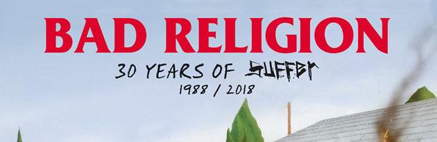 """BAD RELIGION - Suoneranno dal vivo """"Suffer"""" in Italia"""
