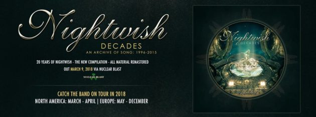 """NIGHTWISH - Trailer e track list della compilation """"Decades"""""""