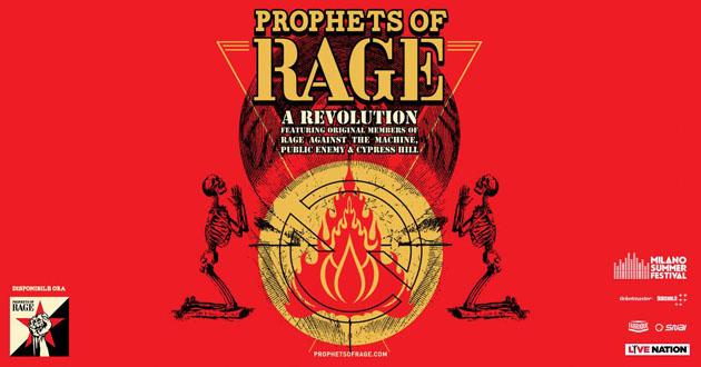 PROPHETS OF RAGE - In concerto al Milano Summer Festival