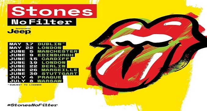 Rolling Stones: annunciate nuove date in Europa