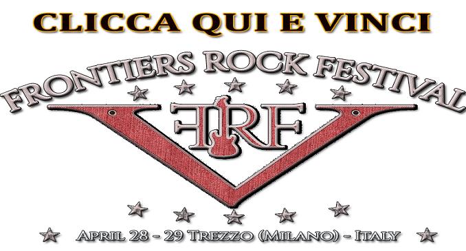 Frontiers Rock Fest V - Vinci tre CD e ritirali allo stand della Frontiers Music