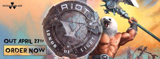 RIOT V - Il nuovo video Armor Of Light