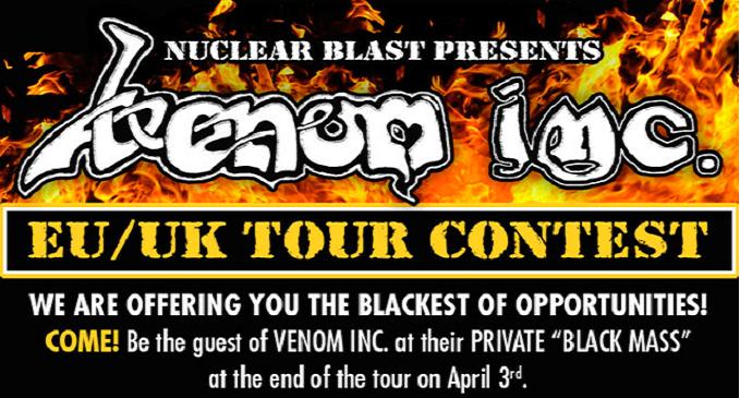 Venom Inc. – Indicono un concorso legato al tour europeo