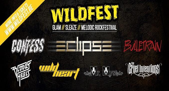 Wildfest - Il festival Glam, Sleaze e Rock Melodico del Belgio
