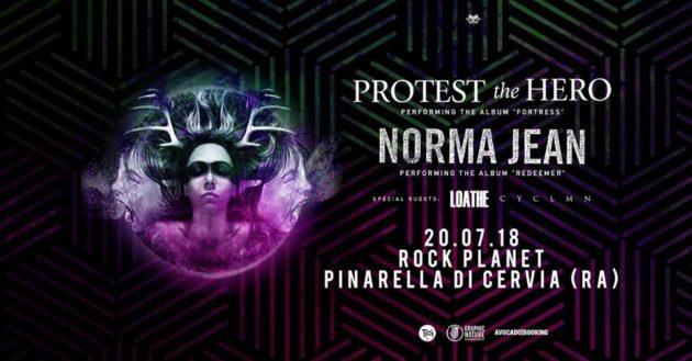 PROTEST THE HERO - Unica data italiana a Luglio