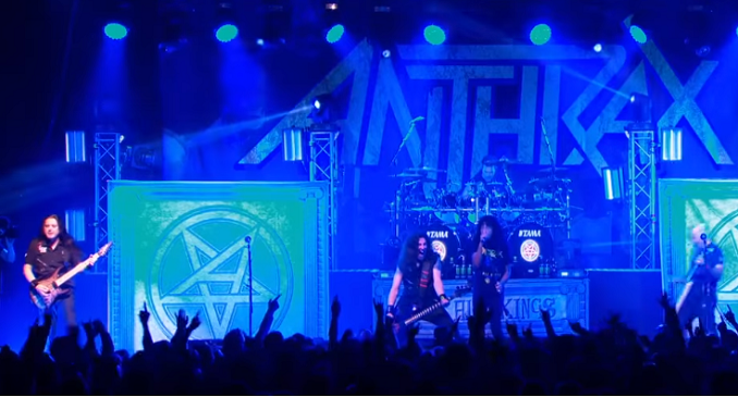 Anthrax - Il video di 'Madhouse' tratto dal DVD 'Kings Among Scotland'