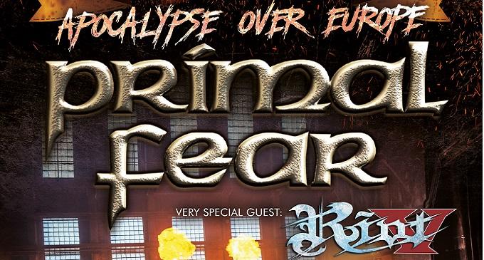 Primal Fear - Ad Ottobre in Italia con Riot V