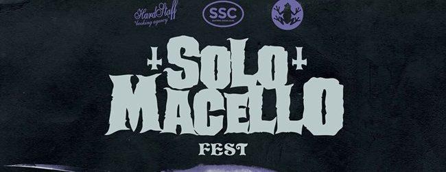 SOLO MACELLO FEST 2018 - La carica dello storico evento sludge-metal italiano.