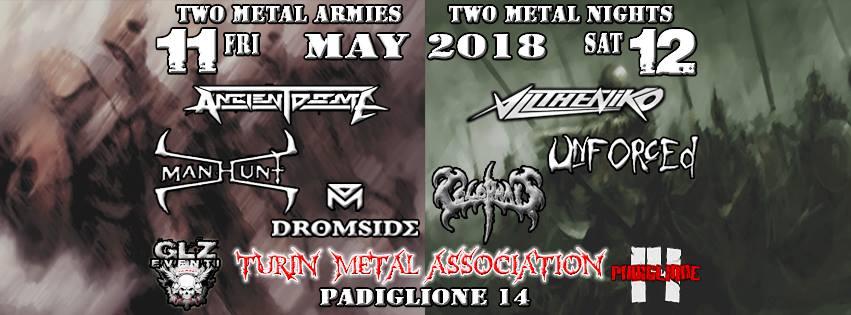 Two metal Armies Two Metal Nights : il bill definitivo
