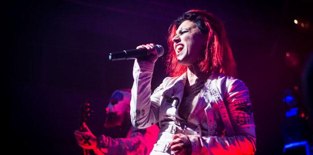 LACUNA COIL - Cristina Scabbia fa cantare i Manowar a The Voice