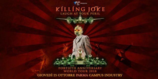 KILLING JOKE - Live in Italia per i 40 anni di carriera.