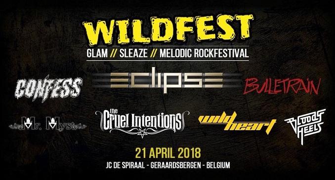 Wildfest - JC De Spiraal, Geraardsbergen (BEL) – 21 aprile 2018